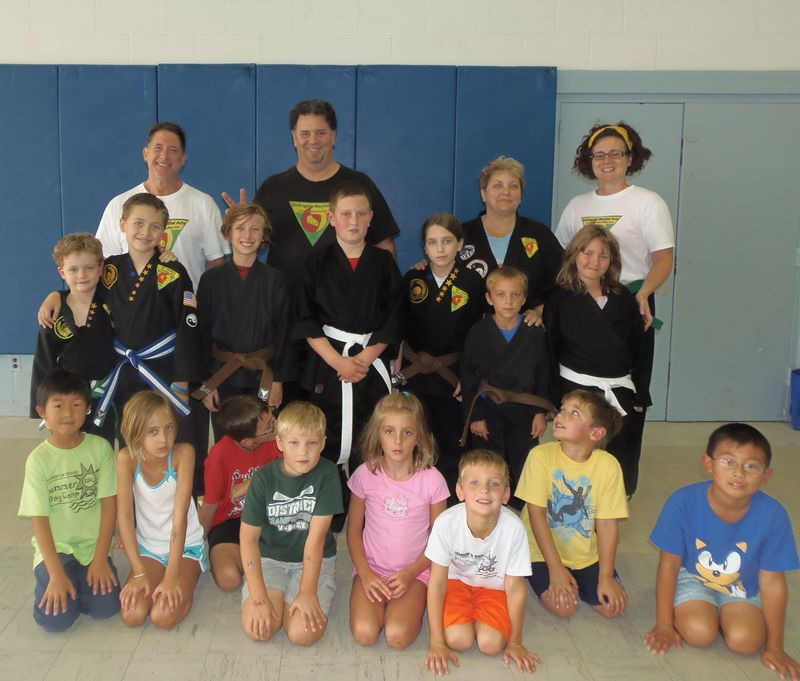 DeAngelis Martial Arts Camp 2012
